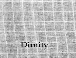 dimity cloth