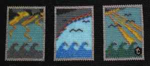 An Afternoon at Sea, a Bead Weaving